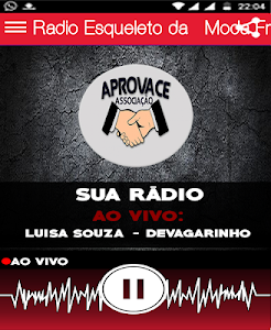screenshot of Rádio Esqueleto da Moda Fm version 1.0