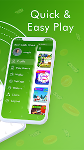screenshot of Real Cash Games : Win Big Prizes and Recharges version 0.0.44
