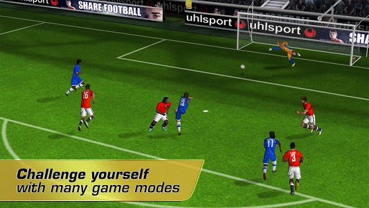 screenshot of Real Football 2012 version Varies with device