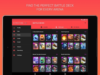 screenshot of Fam for Clash Royale - chest tracker & stats version Varies with device