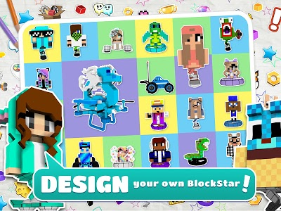screenshot of BlockStarPlanet version Varies with device