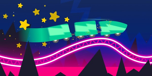 screenshot of Rollercoaster Dash - Rush and Jump the Train version 1.8.0