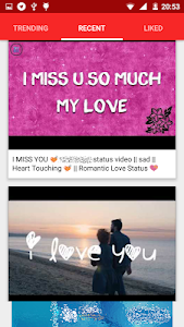 screenshot of Romantic Love Messages version 1.0.0