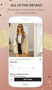 screenshot of SHEIN-Fashion Shopping Online version 6.9.6