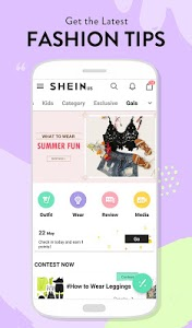 screenshot of SHEIN-Fashion Shopping Online version Varies with device