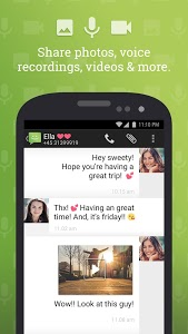 screenshot of SMS from Android 4.4 with Caller ID version 4.4.242