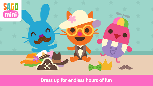 screenshot of Sago Mini Babies Dress Up version 1.4