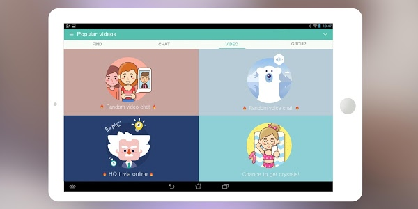 screenshot of SayHi Chat, Meet New People version Varies with device