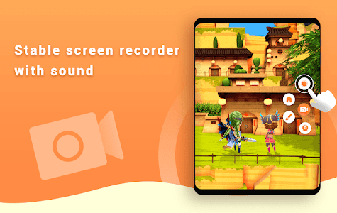 screenshot of Screen Recorder with Audio, Master Video Editor version 1.2.3
