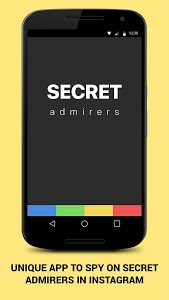 screenshot of Secret Admires for instagram version 2.5.0