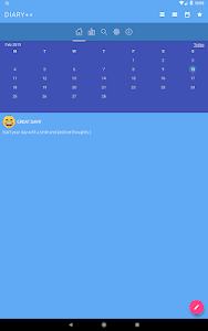 screenshot of Diary with lock version 3.3