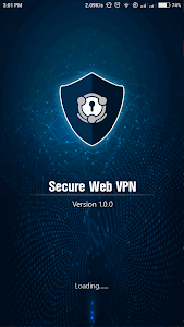 screenshot of Secure Web VPN version 4.0.38