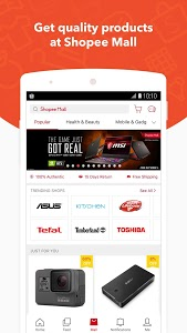 screenshot of Shopee MY: Buy and Sell Online version 2.35.07