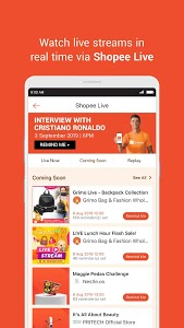 screenshot of Shopee MY: 9.9 Shopping Day version 2.42.62