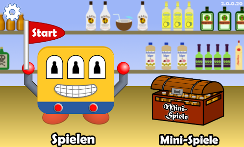 screenshot of Trinkspiel - SaufOMat version 2.1.4
