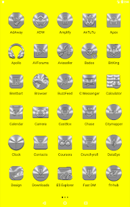 screenshot of Silver and Chrome Icon Pack ✨Free✨ version 2.2