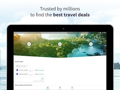 screenshot of Skyscanner - Cheap Flights, Hotels and Car Rental version 5.67.1
