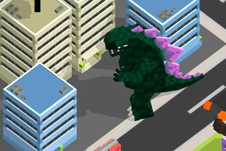screenshot of Smashy City - Dinosaur Game version 3.0.1