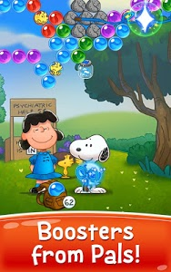 screenshot of Bubble Shooter: Snoopy POP! - Bubble Pop Game version 1.45.500