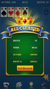 screenshot of Solitaire! version 1.2