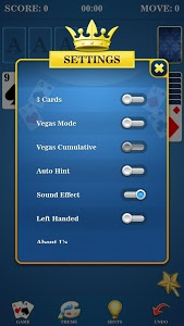 screenshot of Solitaire! version 1.0