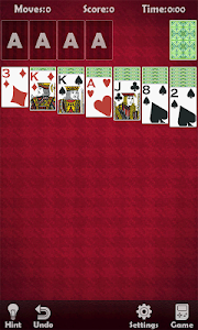 screenshot of Solitaire Classic Collection version 2.9