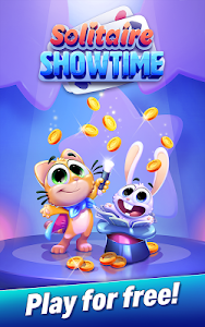 screenshot of Solitaire Showtime: Tri Peaks Solitaire Free & Fun version 4.0.1