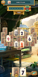 screenshot of Solitaire: Treasure of Time version 1.30.1830