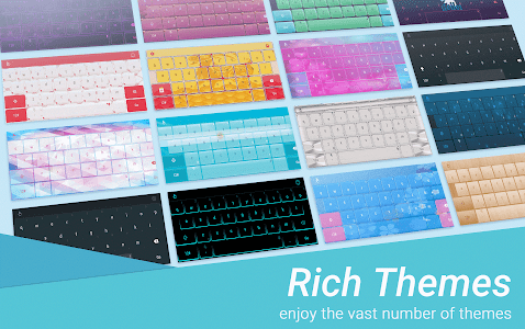 screenshot of Sparkling Heart Keyboard Theme version 6.6.23.2019