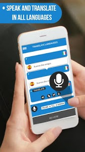 screenshot of Speak and Translate - Voice Typing with Translator version 1.0.5