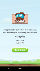 screenshot of Spin Master - Free Spins and Coins Daily Links version 1.0.2