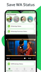 screenshot of Status Downloader for Whatsapp version 1.47