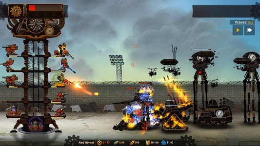 screenshot of Steampunk Tower 2: The One Tower Defense Strategy version 1.0.9