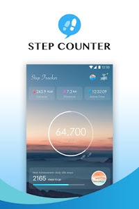 screenshot of Step Tracker - Pedometer, Daily Walking Tracker version 1.3.5