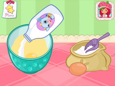 screenshot of Strawberry Shortcake Bake Shop version 1.5