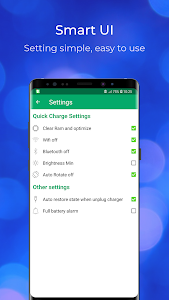 screenshot of Super Battery Saver - Fast Charging - Speed Up 5X version 1.4