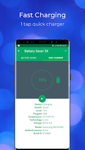 screenshot of Battery Saver - Fast Charging - Speed Up version 1.6