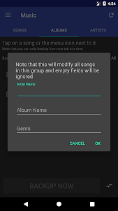 screenshot of Super Music Manager version 2.2.4