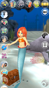screenshot of Sweet Talking Mermaid Princess version 2.2.0