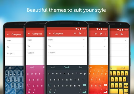 screenshot of SwiftKey Keyboard version 6.4.6.32