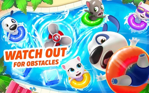 screenshot of Talking Tom Pool Puzzle Game version Varies with device