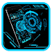 Download Technology Neon Blue 1.1.8 APK