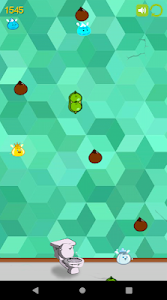 screenshot of The Bathroom Game - A clean master poop arcade version Varies with device