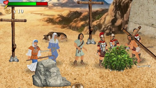 screenshot of The You Testament: The 2D Coming version 1.060