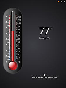 screenshot of Thermometer++ version 4.9