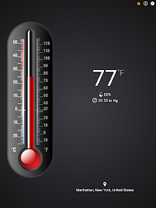 screenshot of Thermometer++ version 5.0.1