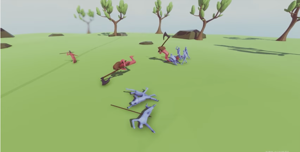 screenshot of Tips of Totally Accurate Battle Simulator game version 1.0