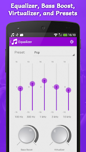 screenshot of Top Music Player version 2.12