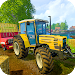 Tractor Trolley Real Farming Tractor 3D