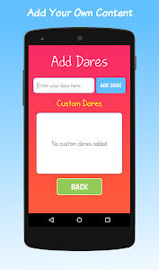 screenshot of Truth Or Dare version 9.5.2
